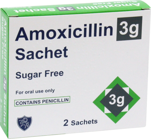Picture of Amoxicillin 3g Sachets SF