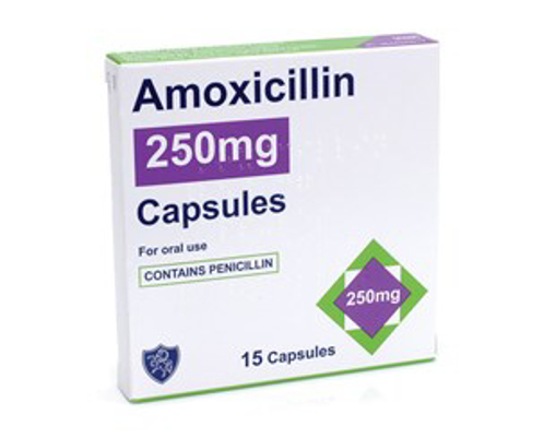 Picture of Amoxicillin 250mg - 15 Capsules