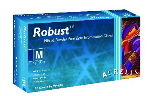 Picture of Aurelia ROBUST Nitrile SMALL Gloves
