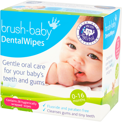 Picture of Brush-Baby DentalWipes (Pk 28)