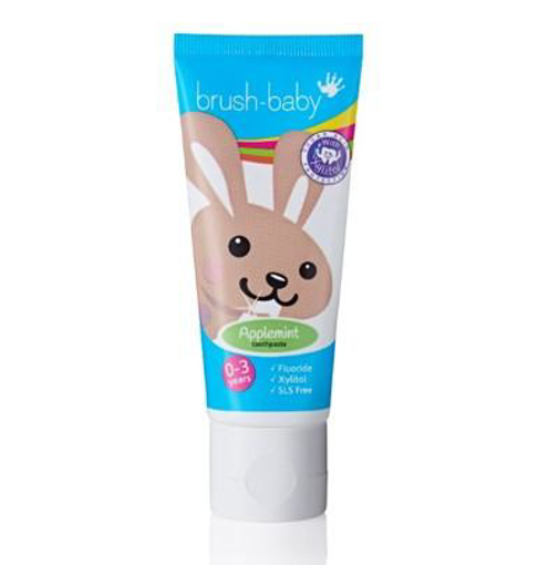 Picture of Brush-Baby APPLEMINT 0-3yrs (50ml)