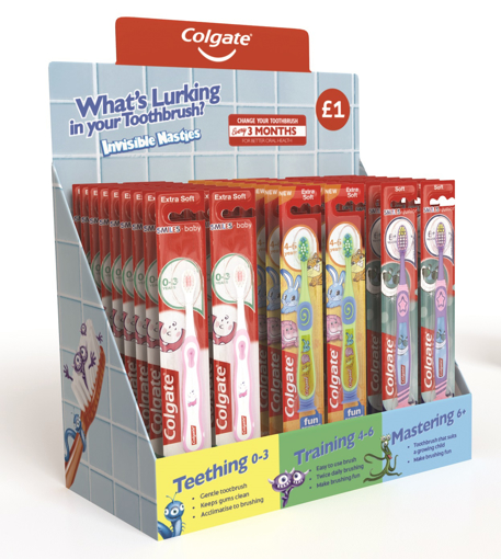 Picture of Colgate SMILES Toothbrush Display