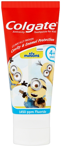 Picture of Colgate MINIONS 4+ yrs T/Paste (50ml)