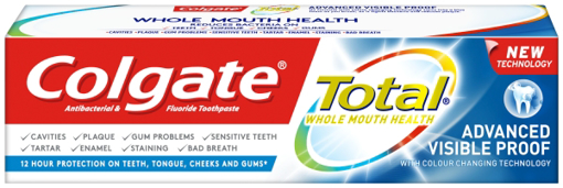 Picture of Colgate Visible Proof Toothpaste 75ml