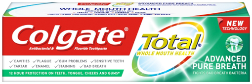 Picture of Colgate Total Pure Breath 75ml