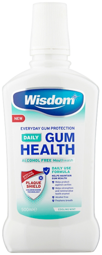 Picture of Wisdom Gum Health 0.02% Rinse