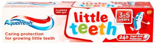 Picture of Aquafresh LITTLE TEETH 3-5yrs (50ml)