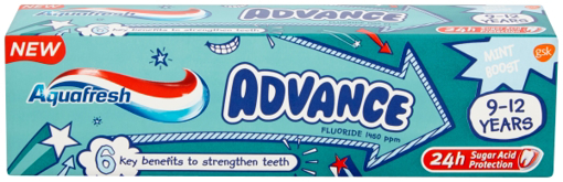 Picture of Aquafresh ADVANCE T/Paste 75ml