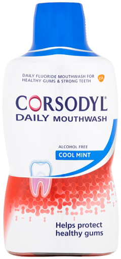 Picture of Corsodyl Daily Rinse - COOLMINT 500ml
