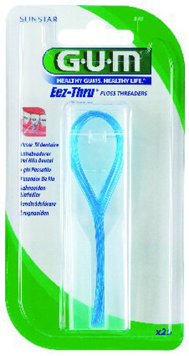 Picture of G.U.M Eez-Thru Floss Threaders (25)