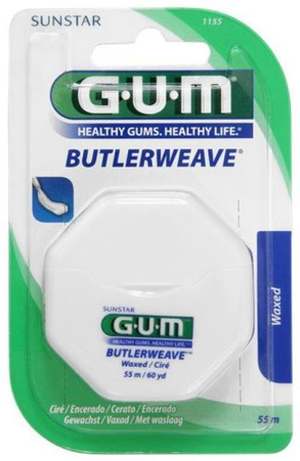 Picture of G.U.M ButlerWeave Waxed Floss 55m