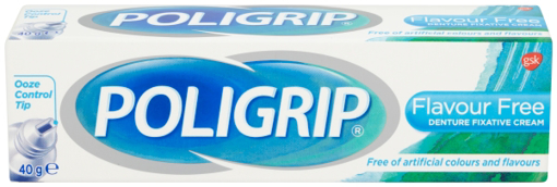Picture of Poligrip FLAVOUR FREE (40g)