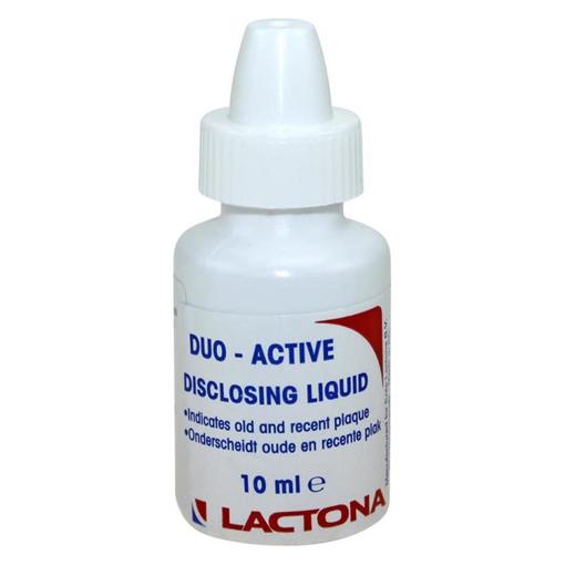 Picture of Lactona Duo-Act Disclosing Liquid 10ml