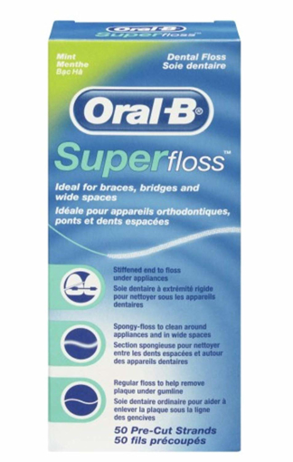 Picture of Oral-B SuperFloss Mint