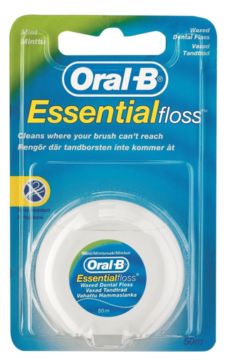 Picture of Oral-B ESSENTIAL Floss MINT Waxed 50m