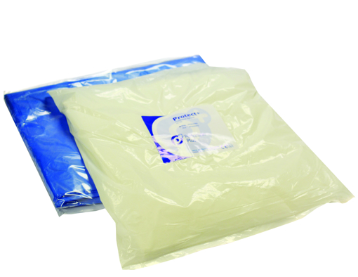 Picture of Protect+ WHITE Polythene Aprons (100)