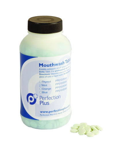 Picture of PEPPERMINT Mouthwash Tablets (1000)