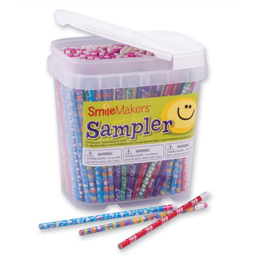 Picture of 400 Dental Pencil & Eraser Sampler