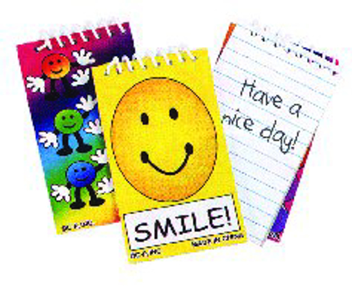 Picture of Groovy Smiley Notepads