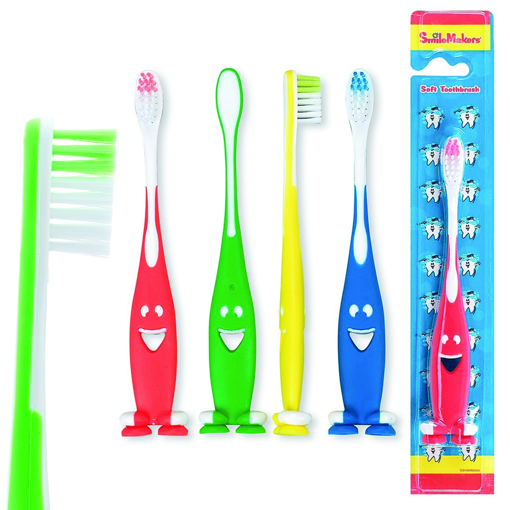 Picture of Smiley Suction Toothbrushes
