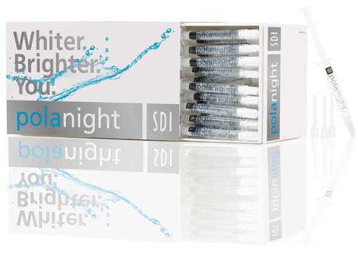 Picture of SDI polanight 16%- 50 syringe Kit