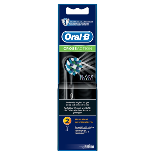 Picture of Oral-B X-Action BLACK TWIN Heads