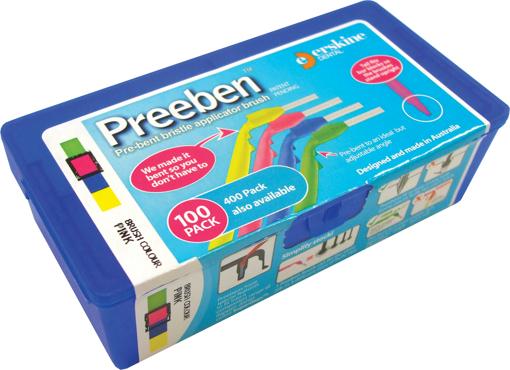 Picture of Preeben BLUE Brush/YELLOW Box