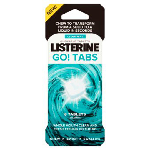 Picture of Listerine GO! Tabs (pk 8)
