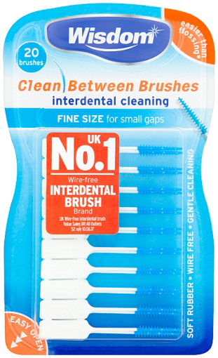 Picture of Wisdom Clean Between Interdental Brushes (20)