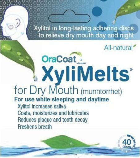 Picture of OraCoat XyliMelts MILD MINT (40)