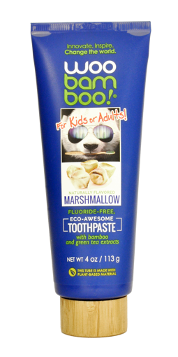 Picture of Woobamboo Marshmallow Kids Toothpaste 113g