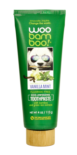 Picture of Woobamboo Vanilla Mint Toothpaste 113g