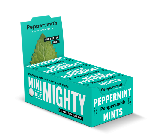 Picture of Peppersmith PEPPERMINT Mints (12)