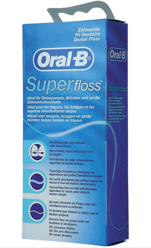 Picture of Oral-B SuperFloss Regular