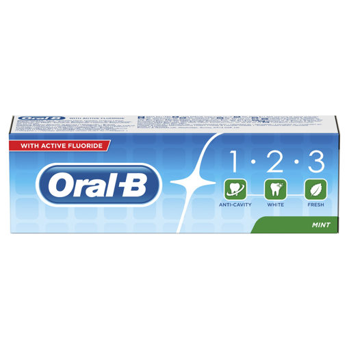 Picture of Oral-B 1.2.3 MINT 100ml Toothpaste