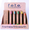 Picture of f.e.t.e Bamboo Toothbrush Display
