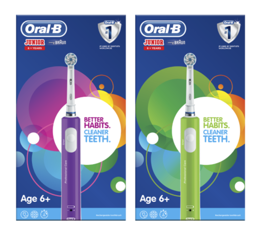 Picture of Oral B Junior 6+ Rechargeable Toothbrush