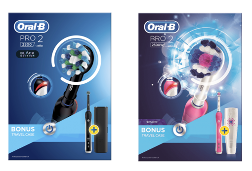 Picture of Oral B Pro2 2500 with travel case