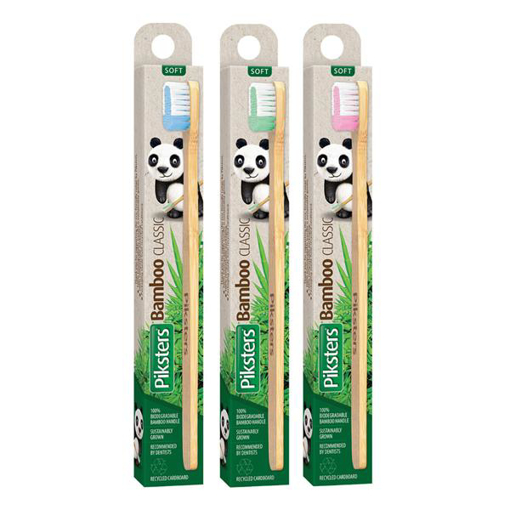 Picture of Piksters Bamboo Classic Toothbrush