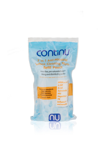 Picture of Continu 2 in 1 REFILL Wipes