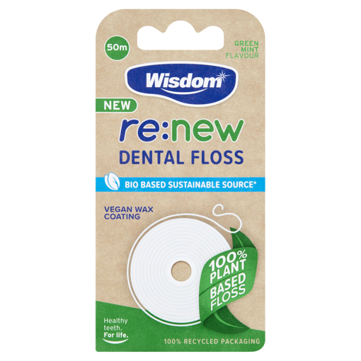 Picture of Wisdom RE-NEW Dental Floss 50m