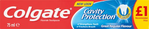 Picture of Colgate Cavity Protection 75ml Toothpaste